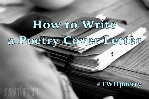 How To Write A Poetry Cover Letter